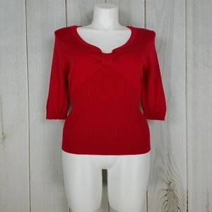 Cato Red V-Neck Sweater NWT!